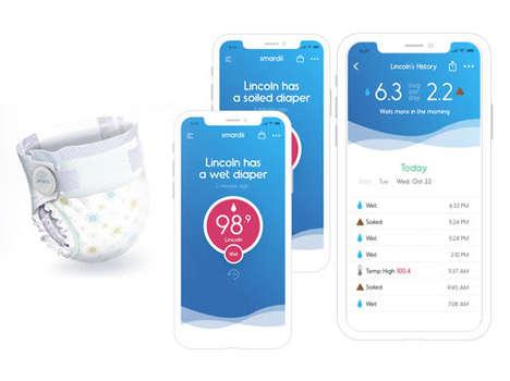 Real-Time Diaper Monitors