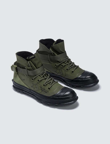 Rugged War-Era Footwear