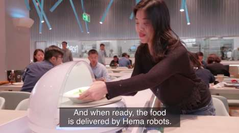 Robot-Run Restaurants