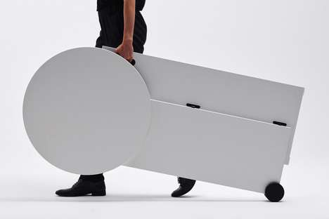 Rolling Standing Desk Tables