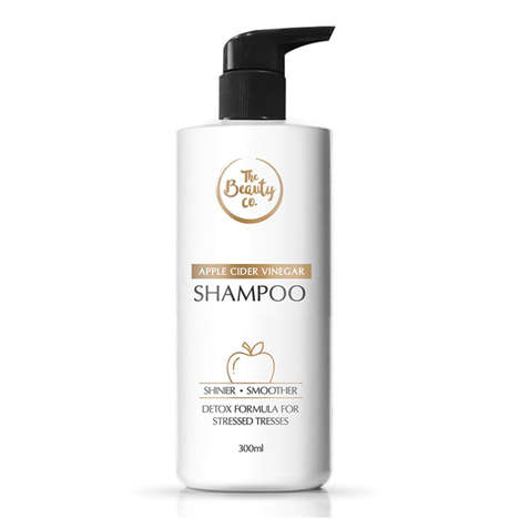 Detoxifying Vinegar Shampoos