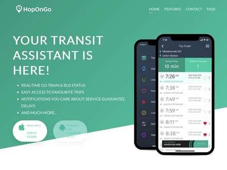 Streamlined Transit Info Apps