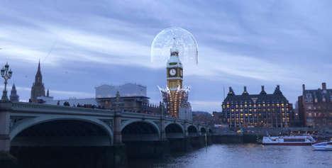Landmark-Augmenting Social Lenses