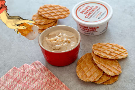 Cinnamon-Spiced Cheese Spreads