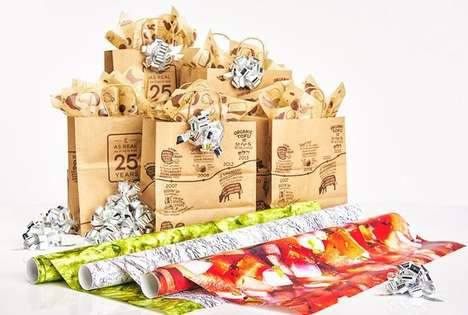 Burrito Chain Wrapping Papers