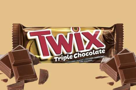 Triple Chocolate Candy Bars