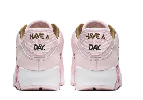 Cheery Pink Spring Sneakers