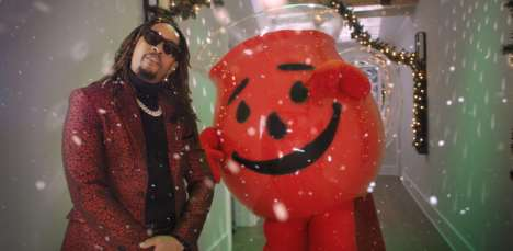 "Rapping Flavored Drink Ads - Kool-Aid and Lil Jon Sing ""All I Really Want for Christmas"""