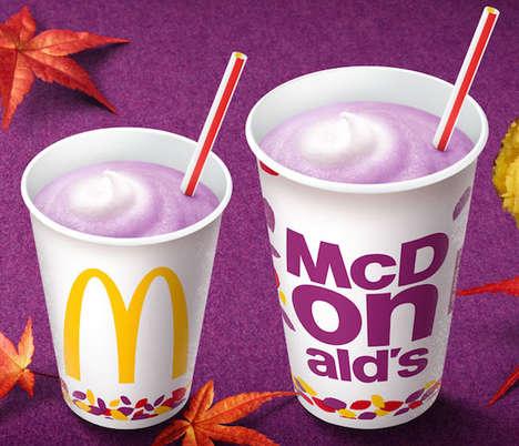 Tasty Purple Milkshakes