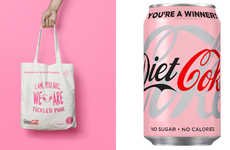 Playful Awareness-Raising Pink Cans