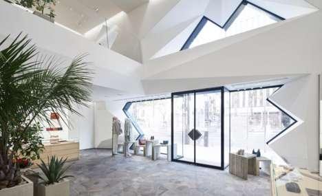 Minimal Flagship Store Designs