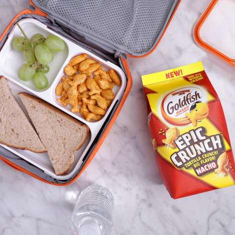 Crunchy Tortilla-Based Crackers