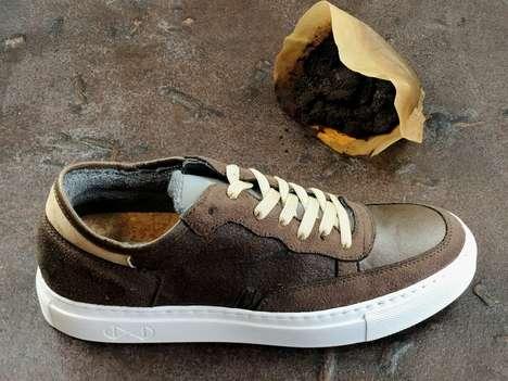 Repurposed Coffee Ground Sneakers