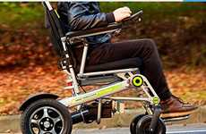 Lightweight Automatic Wheelchairs - The Airwheel H3S Smart Wheelchair Weighs Just 57 Pounds