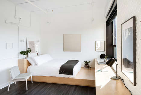 Plywood-Accented Hotel Interiors