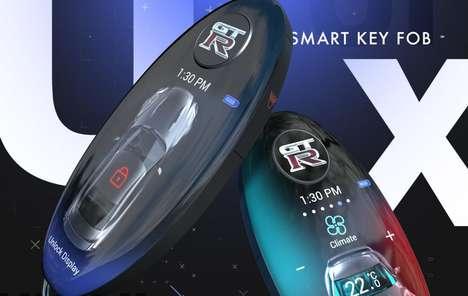 Advanced UI Car Keys