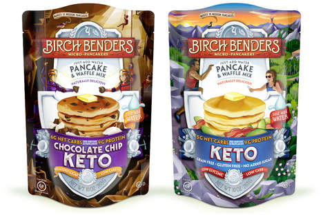 Ketogenic Pancake Mixes