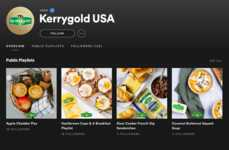 Meal-Paired Playlists - Kerrygold's 'Music Behind the Recipes' Pairs Music and Recipes