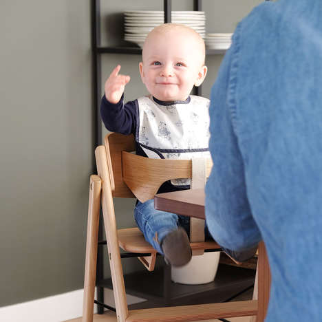 Wooden Design-Forward High Chairs