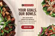 Mexican-Style Diet Bowls - Chipotle's 'Lifestyle Bowls' Cater to Those with Speciality Diets