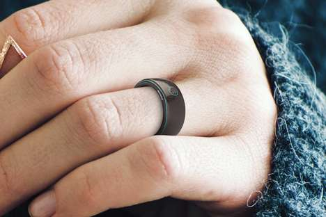 Connected Health-Tracking Rings