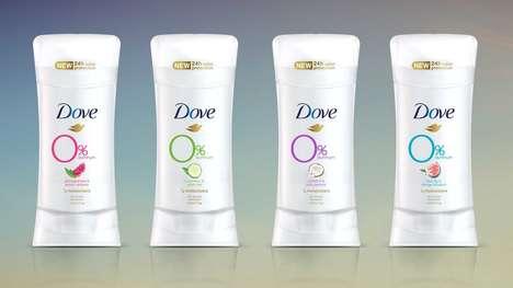 Zero-Aluminum Deodorants