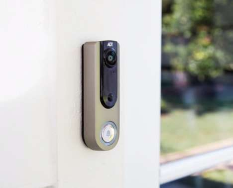 Branded Security Service Doorbells