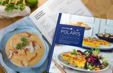 Inflight Food Cookbooks - United Airlines' Cookbook Shares Meals from Its Onboard Dining Experience