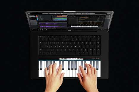 Intuitive Touchscreen Pad Laptops