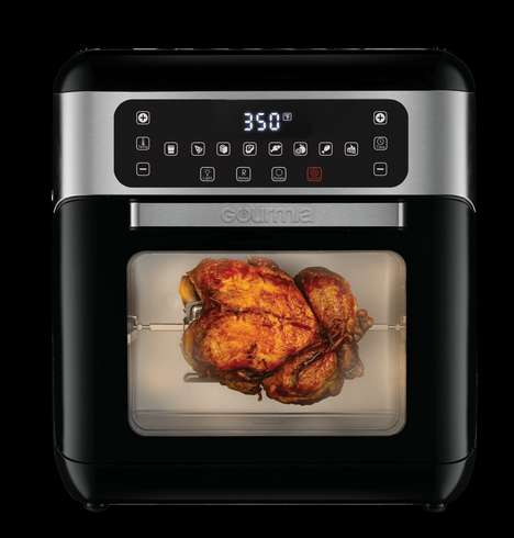 All-in-One Air Fryers - The Gourmia GAF678 is a Smart Air Fryer Oven, Rotisserie & Dehydrator