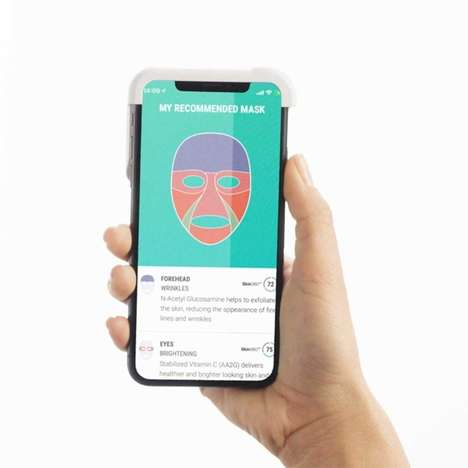 3D-Printed Face Masks - Neutrogena MaskiD is Set to Be Introduced at CES 2019