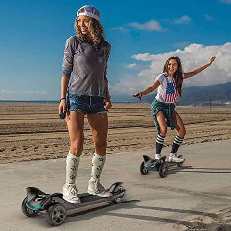 Self-Balancing Electric Hoverboards