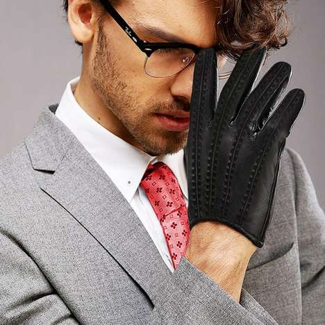 Luxury Tech-Friendly Gloves