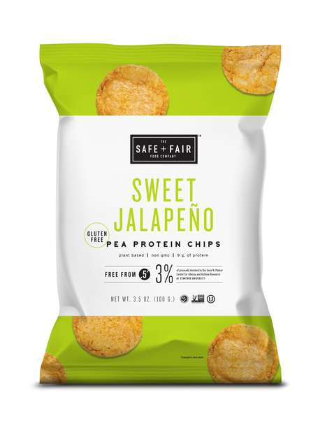 Pea Protein Chips