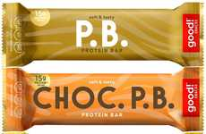 Low-Sugar Plant Protein Bars
