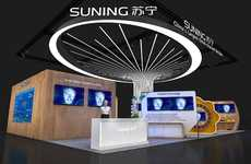 AR-Powered Virtual Fitting Rooms - Suning is Presenting AI & Smart Retail Solutions at CES 2019