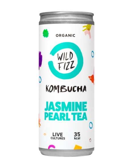 Canned Kombucha Beverages