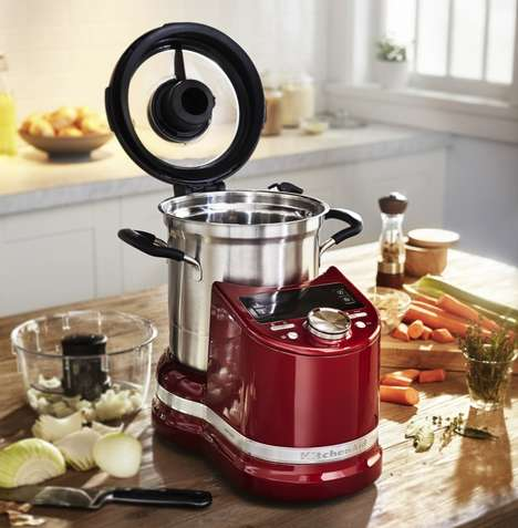 Connected Multifunctional Food Processors - The KitchenAid Cook Processor Connect is All-in-One