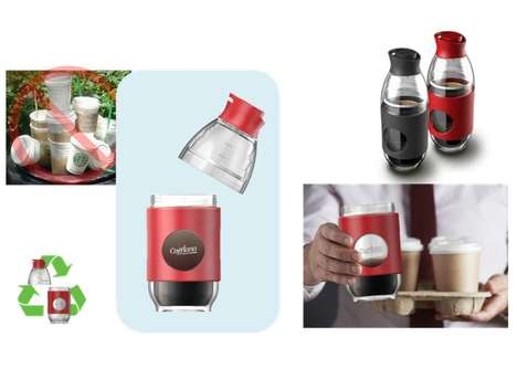 Modular Coffee Bottle Brewers - The Cafflano 'Go-Brew' Replaces the Need for Disposable Alternatives