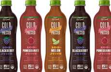 Single-Ingredient Convenience Store Juices - 7-Eleven 7-Select Go!Smart Juices are USDA Organic