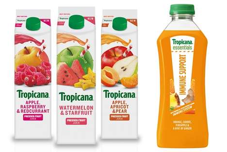 Health-Focused Prepackaged Juices
