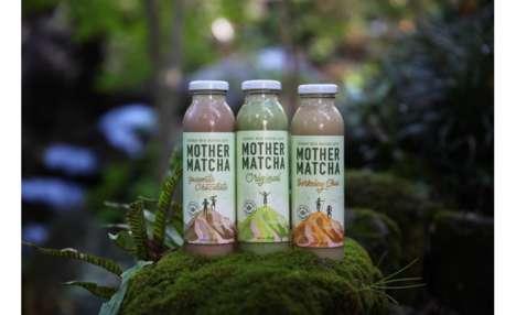 Prepackaged Matcha Beverages