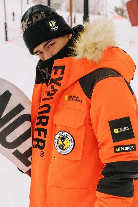 Snowboarding-Inspired Urbanwear