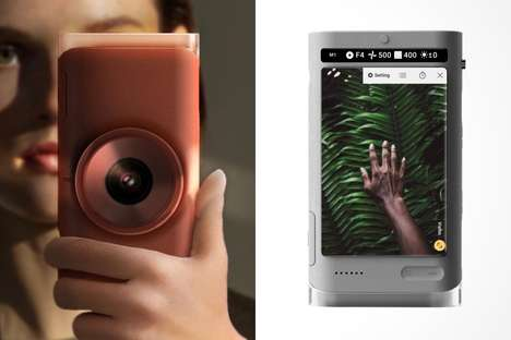 One-Handed Operation Cameras