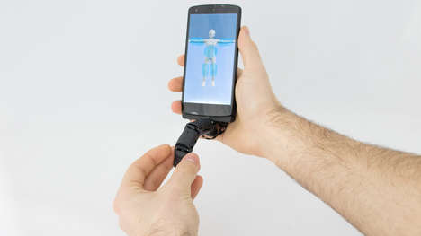 Device-Enhancing Robotic Fingers - Marc Teyssier's MobiLimb Pushes User Experience in the Tech Age