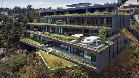 Luxury Hillside Housing Blocks