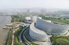 Petal-Shaped Chinese Art Facilities