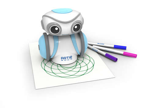 Artful Coding Robots