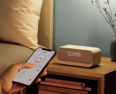Smartphone-Charging Alarm Clocks