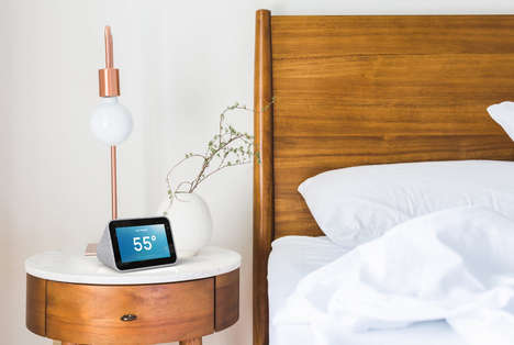 Voice Assistant Bedside Displays